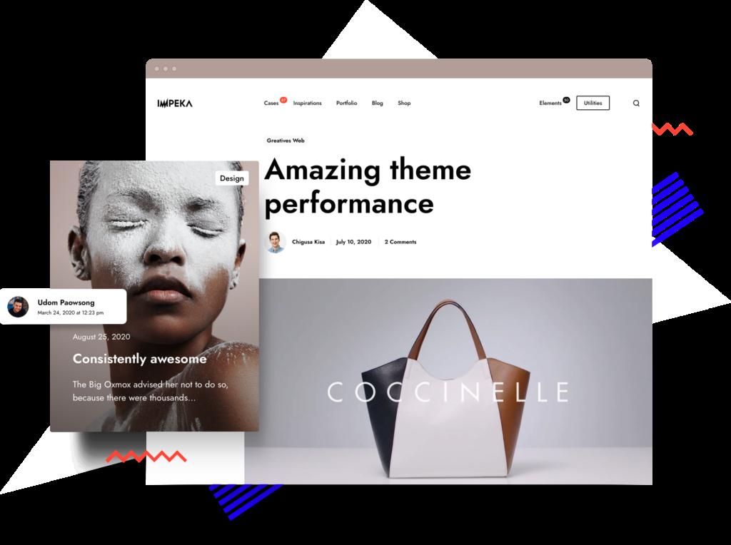 Impeka Blog Posts- Premium WordPress Multipurpose theme by Greatives