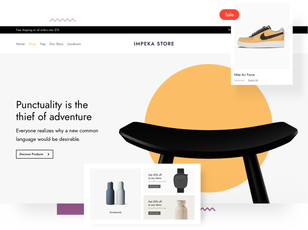 Impeka Shop - Premium WordPress Multipurpose theme by Greatives